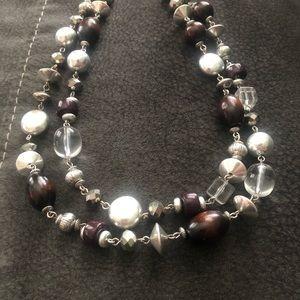 Lia Sophia Coffee Bean necklace